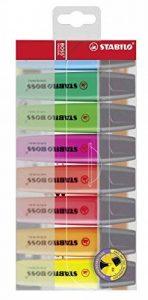 STABILO BOSS ORIGINAL - Pochette de 8 surligneurs - Coloris assortis de la marque STABILO image 0 produit