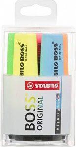 STABILO BOSS ORIGINAL - Pot de 6 surligneurs - Coloris assortis de la marque STABILO image 0 produit