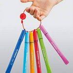 STABILO Cappi - Étui carton de 12 feutres pointe moyenne + 1 lacet d'attache de la marque STABILO image 2 produit
