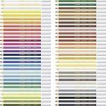 STABILO CarbOthello - Boîte métal de 60 crayons de couleur fusains pastels + taille-crayon - Coloris assortis de la marque STABILO image 3 produit