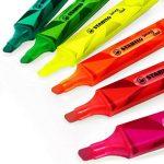 Stabilo Couleur Matrix Swing Cool Surligneur–Vert, Vert clair, Rose, Rouge, Orange, Jaune–Portefeuille de 6–275/6–07 de la marque STABILO image 2 produit