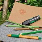 Stabilo Green Boss, simple Stylo Surligneurs en plastique 83% recyclé + recharge vert de la marque STABILO image 3 produit