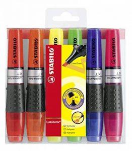 STABILO LUMINATOR - Pochette de 6 surligneurs à encre liquide - Coloris assortis de la marque STABILO image 0 produit