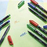 STABILO OHPen - Lot de 10 marqueurs - Noir (encre permanente/pointe superfine 0,4mm) de la marque STABILO image 4 produit