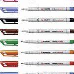 STABILO OHPen - Pochette de 8 marqueurs (encre non-permanente/pointe fine 0,7mm) de la marque STABILO image 4 produit