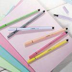 STABILO Pen 68 - Pochette de 8 feutres pointe moyenne - Couleurs pastel de la marque STABILO image 3 produit