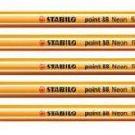 STABILO - Pochette de 5 stylos-feutres point 88 + 5 feutres Pen 68 - Couleurs fluo de la marque STABILO image 2 produit