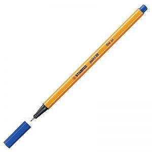 STABILO point 88 - Lot de 10 stylos-feutres pointe fine - Bleu (88/41) de la marque STABILO image 0 produit