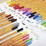 STABILO point 88 - Lot de 10 stylos-feutres pointe fine - Bleu (88/41) de la marque STABILO image 3 produit