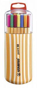 STABILO point 88 - Étui Zebrui de 20 stylos-feutres pointe fine - Coloris assortis de la marque STABILO image 0 produit