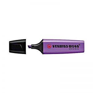 Stabilo – Surligneur Boss Original pointe biseautée - violet de la marque STABILO image 0 produit