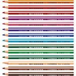 STABILO Trio - Étui carton de 18 crayons de couleur triangulaires + taille-crayon de la marque STABILO image 1 produit