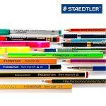 Staedtler Lumocolor 317, Feutre permanent pour toutes les surfaces, Sans xylène ni toluène, Pour rétroprojection, Set de 8 couleurs lumineuses, pointe ogive 0.8 à 1 mm, 317 WP8 de la marque Staedtler image 3 produit