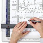 Staedtler Mars 661, planche à dessin en plastique, antichoc, indéformable et lavable, avec règle parallèle et fixe-support, 661 A3 de la marque Staedtler image 3 produit