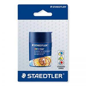 Staedtler - Noris 512 - Blister 1 Taille-Crayon 2 Usages avec Réservoir Cylindrique de la marque Staedtler image 0 produit