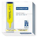 Staedtler Textsurfer Classic 364 Surligneur Jaune fluo Lot de 10 de la marque Staedtler image 1 produit