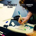 Stationery Island Feutre Textile – Feutres Tissu Permanents Double Pointe Pack de 12 de la marque Stationery Island image 4 produit