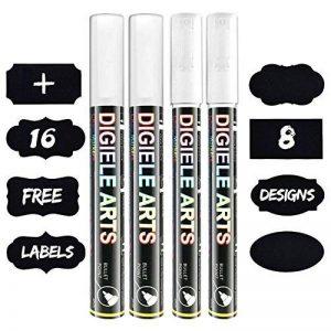 stylo blanc effacable pour tableau noir TOP 6 image 0 produit