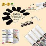stylo blanc effacable pour tableau noir TOP 8 image 1 produit