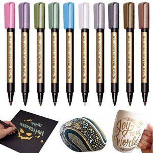 stylo indélébile pour plastique TOP 6 image 0 produit