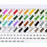 Stylo-marqueur graphique nécessaire à l'artiste Stylo-croquis de finecolour à double extrémité Pointe à pointe large et fine avec sac noir de la marque Buoyancy image 1 produit