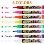 Stylo Marqueur,korostro Marqueurs Craie Liquide 8pcs Couleurs fluo, le meilleur pour les créations artistiques des enfants,effaçables sûr et facile à utiliser fluorescent stylo de la marque KOROSTRO image 4 produit