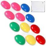 SwanSea Tableau Blanc Magnétique effaçable à sec pour école à la maison de bureau avec 12 Magnètes 90x60cm de la marque SwanSea image 3 produit