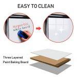 Tableau blanc magnétique effaçable | Chevalet de conférence | Réglable en hauteur & usage flexible, 60 x 90 cm de la marque MAXTEK image 3 produit