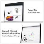 Tableau blanc magnétique effaçable | Chevalet de conférence | Réglable en hauteur & usage flexible, 60 x 90 cm de la marque MAXTEK image 4 produit