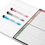 Tableau Blanc Magnétique Planning Quotidien Format A3 Par Plan Smart *Version Couleur* - Planning Liste à faire Pour Frigo - BONUS: 3 Marquers De Qualité de la marque Plan smart image 2 produit
