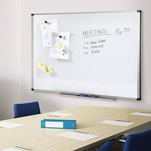 Tableau Blanc Office Marshal | Tableau Magnétique Élu Meilleur Rapport Qualité/Prix | Tableau Effaçable Aimanté | Série PRO, 60x90cm de la marque Office Marshal image 0 produit