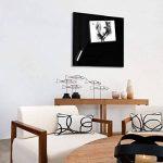 Tableau en verre Master of Boards® en noir | verre de sécurité magnétique | taille 45x50cm de la marque Master of Boards image 2 produit
