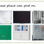 Tableau magnétique / mur pour écrire Villexun - Format A4 - Matériau souple - Fonctionne comme un réfrigérateur à aimant (autocollant) - Écriture avec marqueurs de bureau, design créatif noir de la marque Villexun image 4 produit