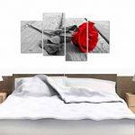 tableau noir rouge blanc TOP 4 image 2 produit