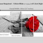 tableau noir rouge blanc TOP 4 image 3 produit