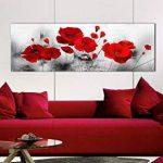 tableau noir rouge blanc TOP 8 image 1 produit