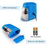 Taille-Crayon Electronique, USB Convent Machine à Tailler Les Crayons Ø6-8, Piles Non Incluses avec Réserve Amovible, Fonctionne Automatiquement, Pratique pour Paresseux (Blue) de la marque VEYETTE image 3 produit