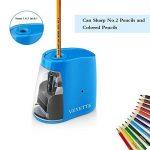 Taille-Crayon Electronique, USB Convent Machine à Tailler Les Crayons Ø6-8, Piles Non Incluses avec Réserve Amovible, Fonctionne Automatiquement, Pratique pour Paresseux (Blue) de la marque VEYETTE image 4 produit