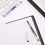 étanche Encre liquide Stylo à bille, 12-pack 0,5mm fine point stylos à bille avec haute capacité Noir de la marque Gaocheng image 4 produit