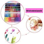 TOPmore 160 Crayons de Couleur Coloriage -Les meilleurs crayons pour enfants, adultes et artistes,Idéal pour tous les types de coloriage avec Taille Crayon,livre de peinture ,gomme de la marque TOPmore image 1 produit