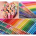 TOPmore 160 Crayons de Couleur Coloriage -Les meilleurs crayons pour enfants, adultes et artistes,Idéal pour tous les types de coloriage avec Taille Crayon,livre de peinture ,gomme de la marque TOPmore image 3 produit