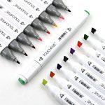 TOUCHFIVE Marker Lot de 80 marqueurs à double pointes Brush dans un sac (pour animation) de la marque Touchfive image 2 produit