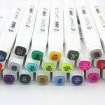 TOUCHFIVE Marker Lot de 80 marqueurs à double pointes Brush dans un sac (pour animation) de la marque Touchfive image 3 produit