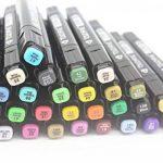 TOUCHFIVE Marker Lot de 80 marqueurs noir peinture dessin à double pointe Brush dans un sac (pour animation) de la marque Touchfive image 3 produit