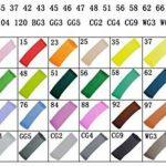 TOUCHFIVE® Markers Lot de 40 marqueurs peinture de double pointes 1mm / 6mm Brush dans un sac(conception manga) de la marque Touchfive image 2 produit