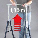 Tréteau de travail télescopique MB 160 H de la marque Brennenstuhl image 3 produit