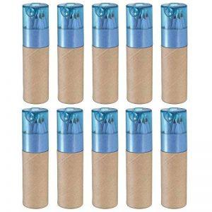 Tubes contenant 10 crayons de couleur, de eBuyGB, pour cadeaux de mariage et sacs de fête de la marque eBuyGB image 0 produit