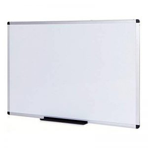 VIZ-PRO Tableau Blanc | non magnétique | cadre en aluminium, 110 x 75 cm de la marque VIZ-PRO image 0 produit