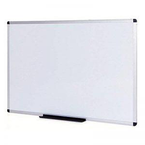 VIZ-PRO Tableau Blanc | surface laquée aimantée | cadre en aluminium, 100 x 80 cm de la marque VIZ-PRO image 0 produit