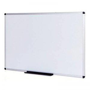 VIZ-PRO Tableau Blanc | surface laquée aimantée | cadre en aluminium, 110 x 75 cm de la marque VIZ-PRO image 0 produit